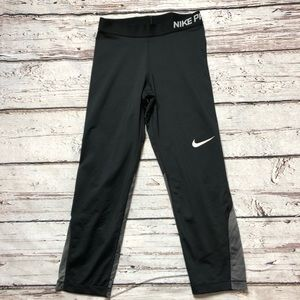 Nike Pro Leggings Cropped Length Women's Small